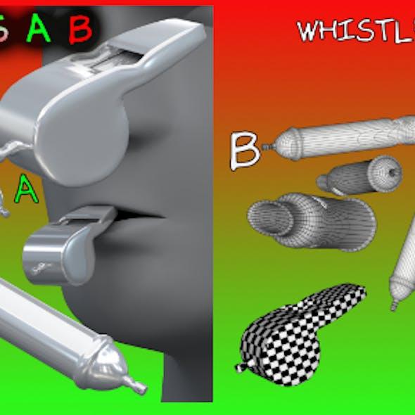Whistles FBX_OBJ