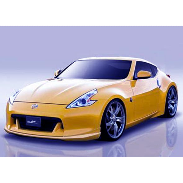 Nissan 370Z A-Type - 3DOcean Item for Sale