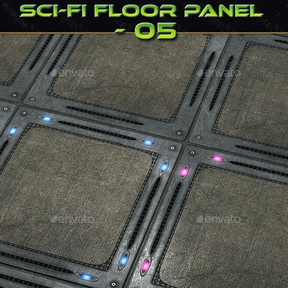 Sci-fi Floor Panel 05