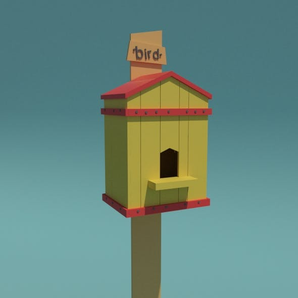 Birds House - 3DOcean Item for Sale