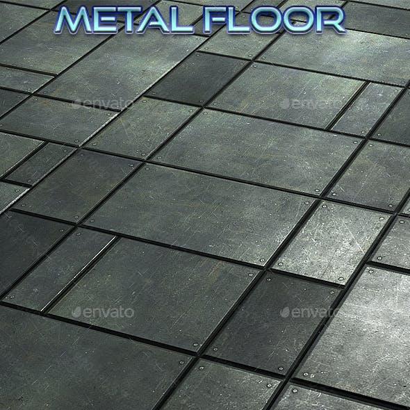 Metal Floor Title