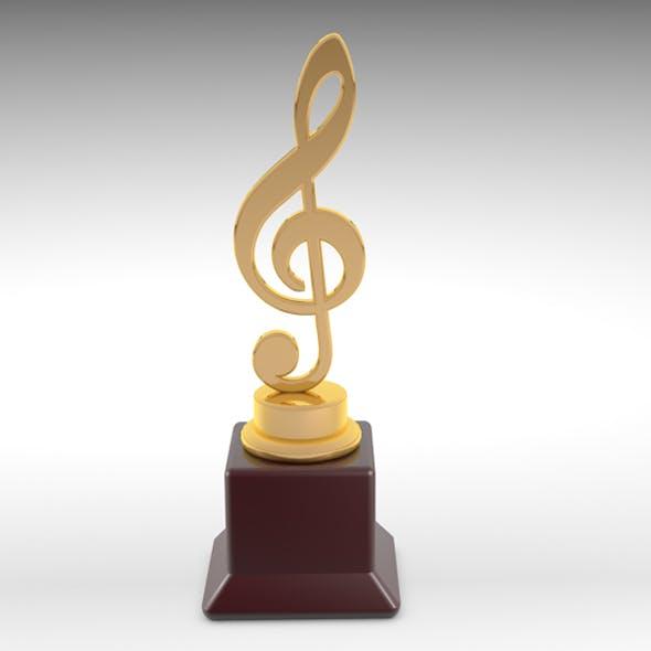 3d music award - 3DOcean Item for Sale