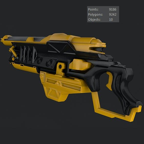 Sci-Fi Gun 01