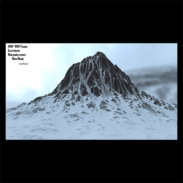 snow mountain 4 - 3DOcean Item for Sale