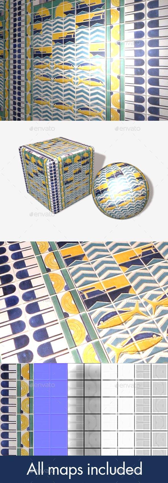 Nautical Tiles Seamless Texture - 3DOcean Item for Sale