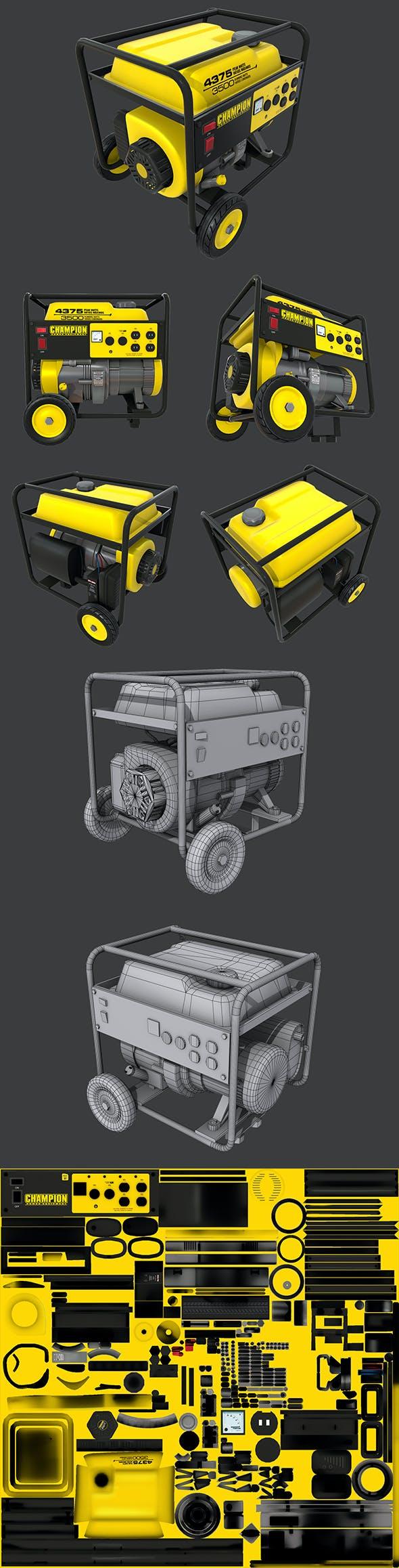 Generator - 3DOcean Item for Sale