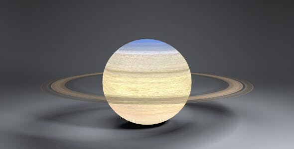 Saturn 4k Globe - 3DOcean Item for Sale