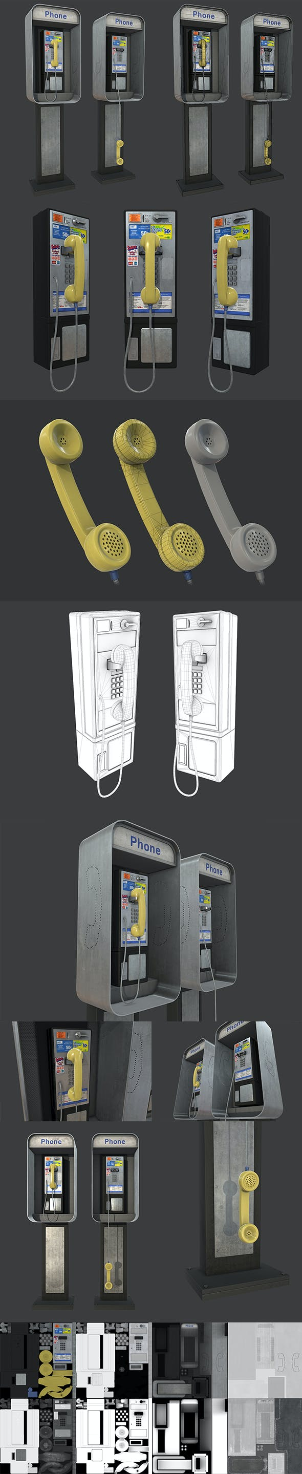 Phonebooth - 3DOcean Item for Sale