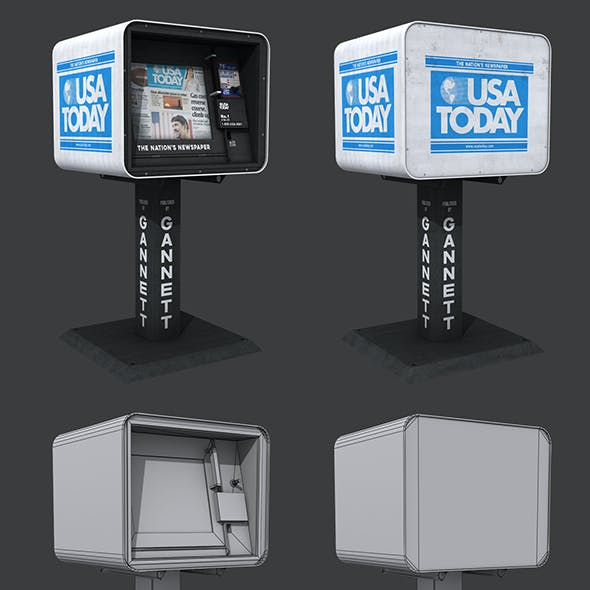 USA Today Newspaper Dispenser