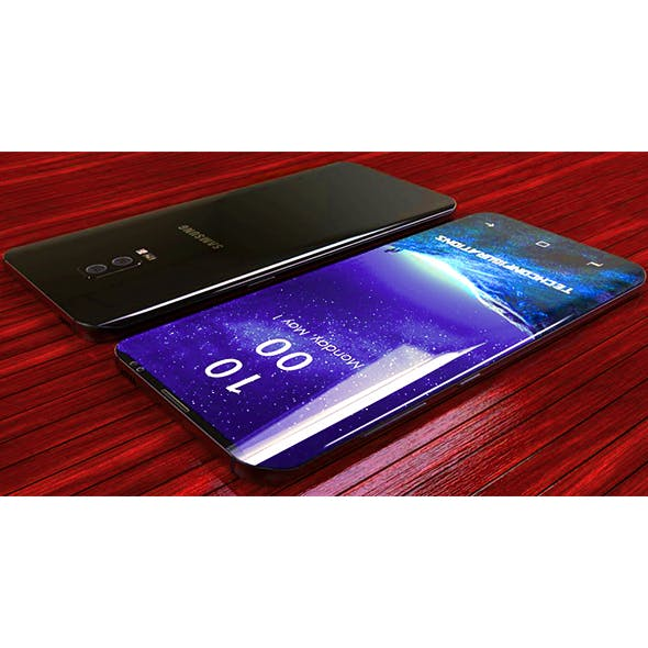 SAMSUNG GALAXY S9+{BLACK} - 3DOcean Item for Sale