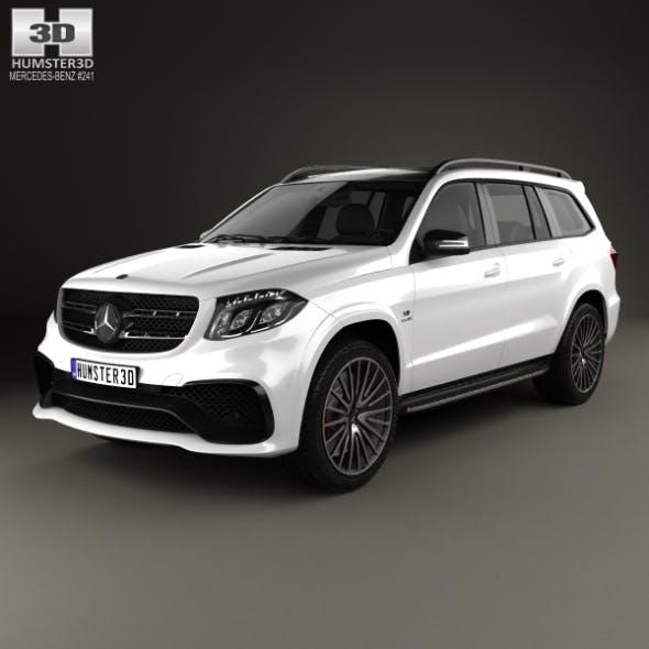 Mercedes-Benz GLS-Class AMG 2015 - 3DOcean Item for Sale