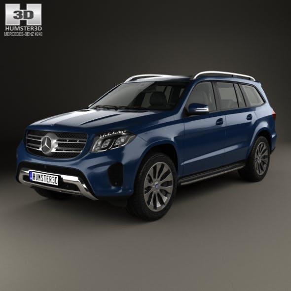 Mercedes-Benz GLS-Class 2015 - 3DOcean Item for Sale