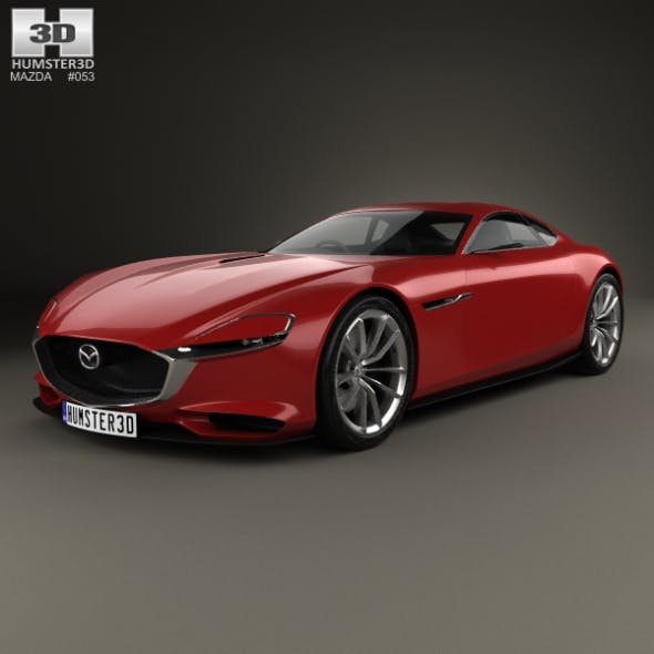Mazda RX Vision 2015 - 3DOcean Item for Sale