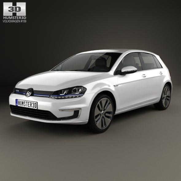 Volkswagen e-Golf 2015