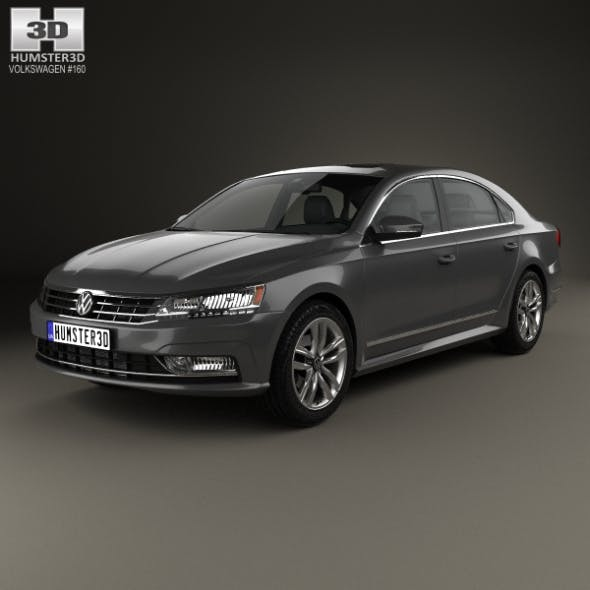 Volkswagen Passat (NMS) 2016 - 3DOcean Item for Sale
