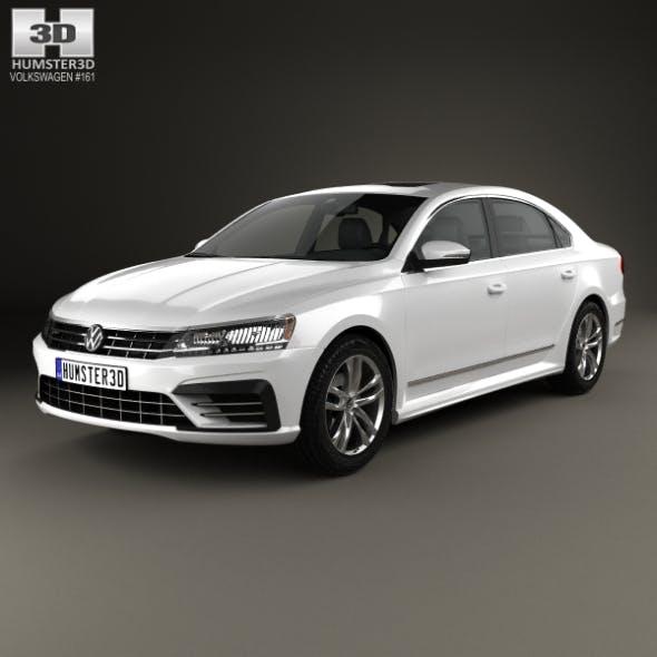Volkswagen Passat (NMS) R-Line 2016 - 3DOcean Item for Sale