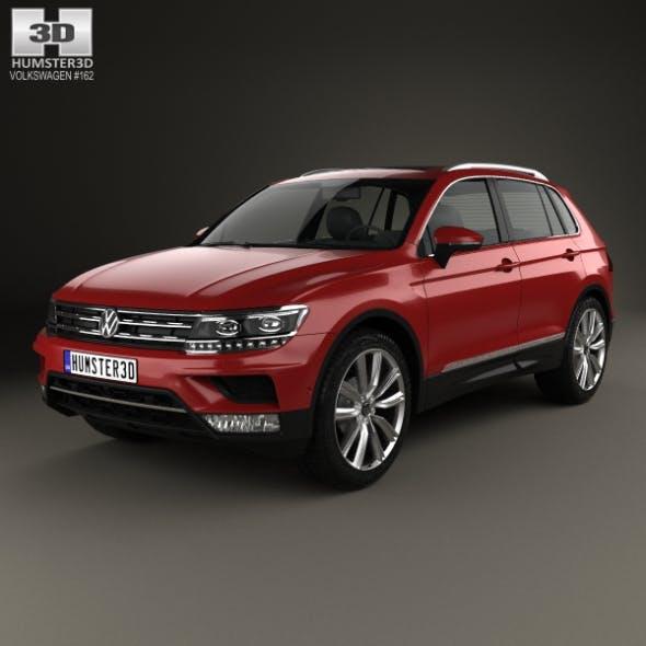 Volkswagen Tiguan 2015 - 3DOcean Item for Sale