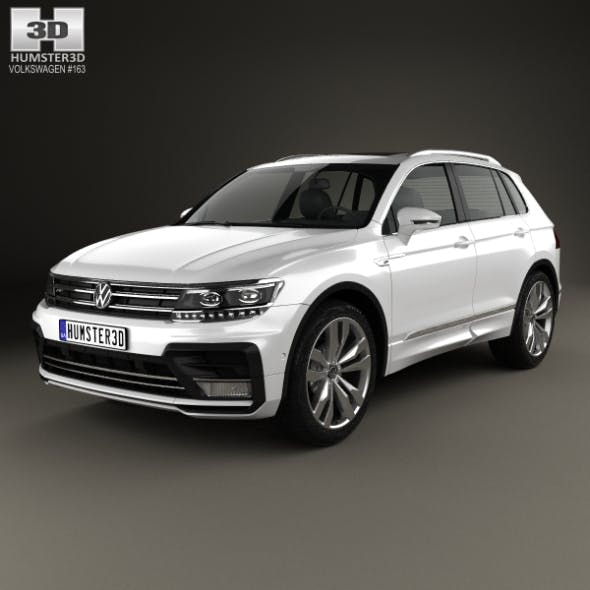 Volkswagen Tiguan R-line 2015 - 3DOcean Item for Sale
