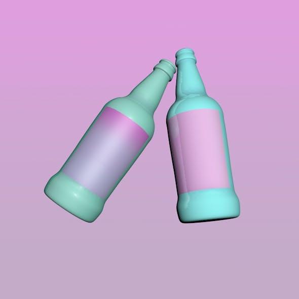 Neon Bottle
