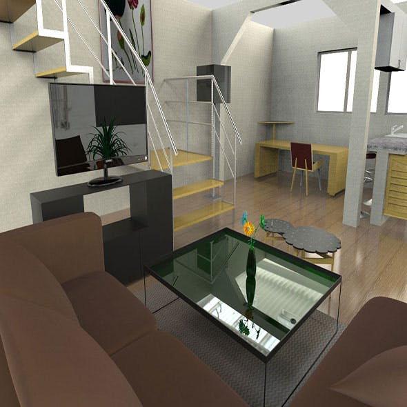 Apartment and room