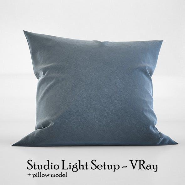 Studio Light Setup Scene - VRay