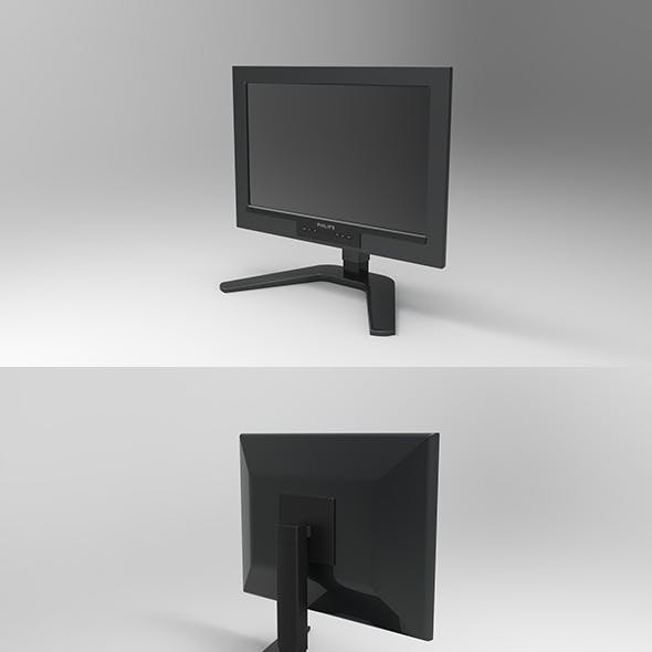 GeyiG - Realistic Monitor 3D Model
