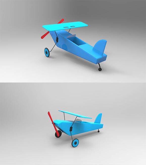 GeyiG - Plastic Toy Plane 3D Model - 3DOcean Item for Sale