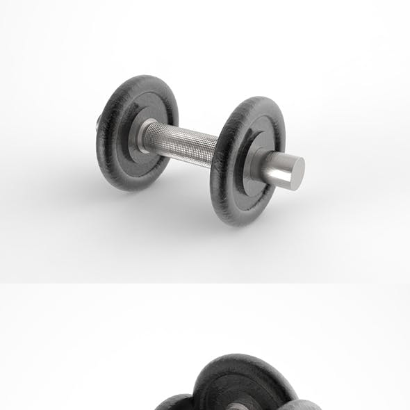 GeyiG - Realistic 3D Dumbbell Model