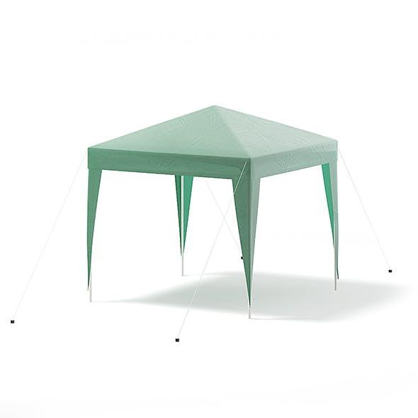 Green Garden Pavilion 3D Model - 3DOcean Item for Sale