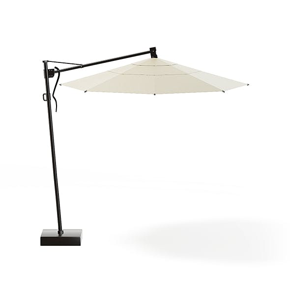 Garden Umbrella 3D Model - 3DOcean Item for Sale