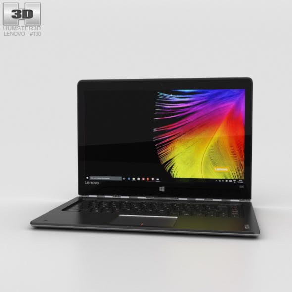 Lenovo Yoga 900 Silver - 3DOcean Item for Sale