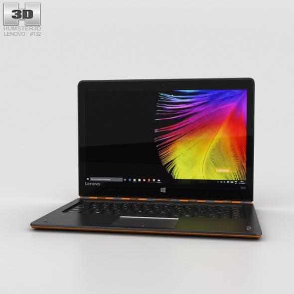 Lenovo Yoga 900 Orange - 3DOcean Item for Sale
