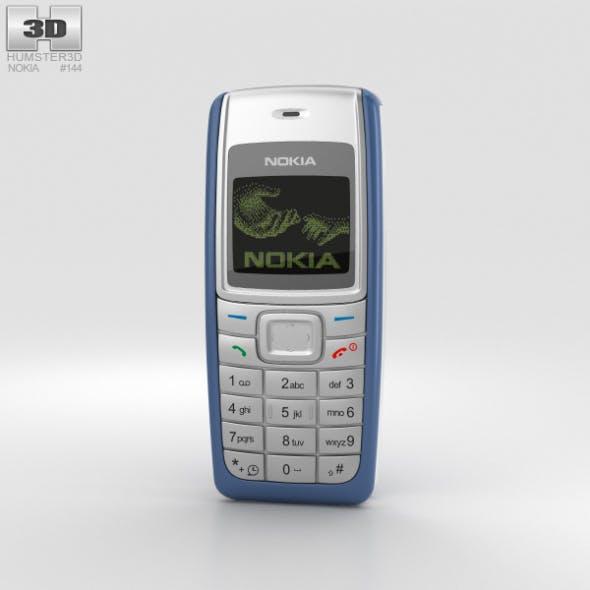 Nokia 1110 Blue - 3DOcean Item for Sale