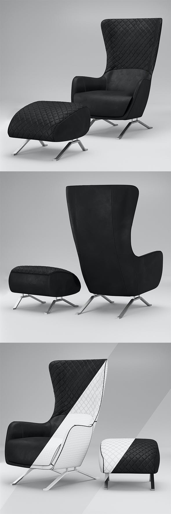 Chair Sin Seaty - 3DOcean Item for Sale