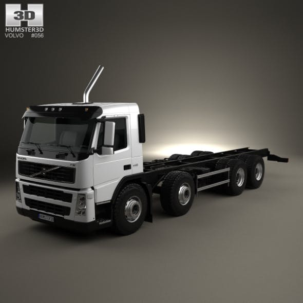 Volvo FM Chassis Truck 4-axle 2010 - 3DOcean Item for Sale