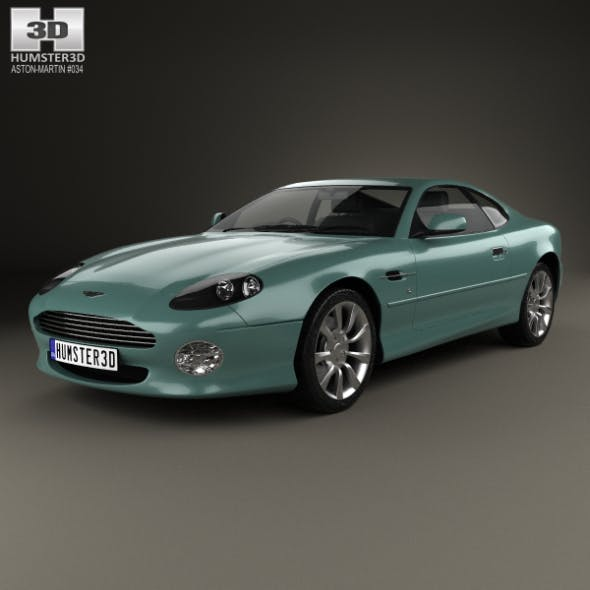 Aston Martin DB7 Vantage 1999 - 3DOcean Item for Sale