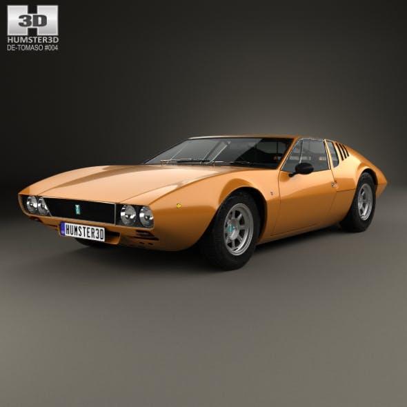 De Tomaso Mangusta 1967 - 3DOcean Item for Sale