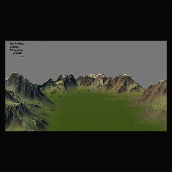 terrain 6 - 3DOcean Item for Sale