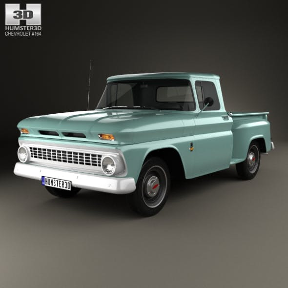 Chevrolet C10 (K10) 1963 - 3DOcean Item for Sale