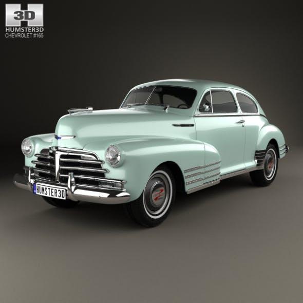 Chevrolet Fleetline 2-door Aero Sedan 1948