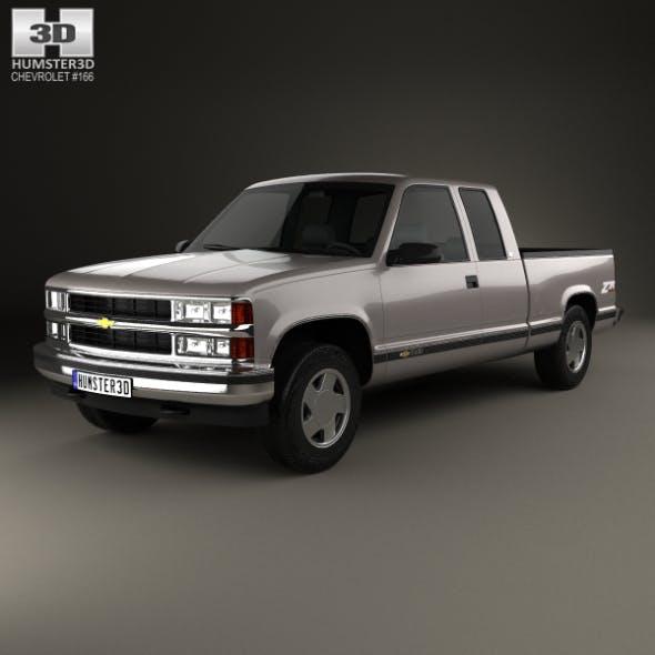 Chevrolet C1500 (K1500) Extended Cab 1988 - 3DOcean Item for Sale