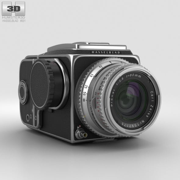 Hasselblad 500C - 3DOcean Item for Sale