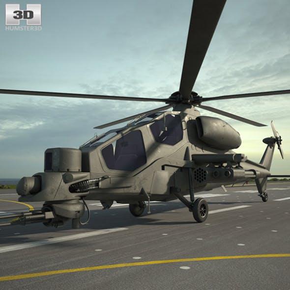 Agusta A129 Mangusta - 3DOcean Item for Sale