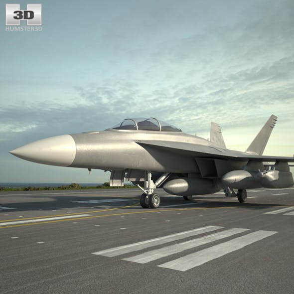 Boeing EA-18G Growler - 3DOcean Item for Sale