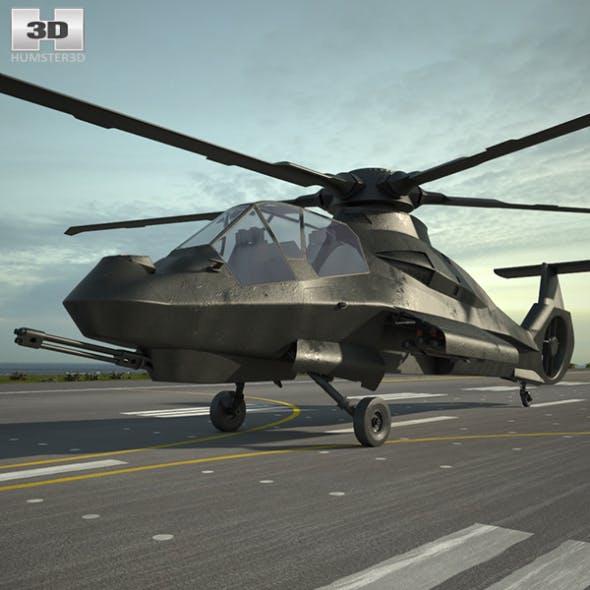 Boeing Sikorsky RAH-66 Comanche - 3DOcean Item for Sale
