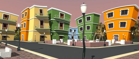 Cartoon Film Set - 3DOcean Item for Sale