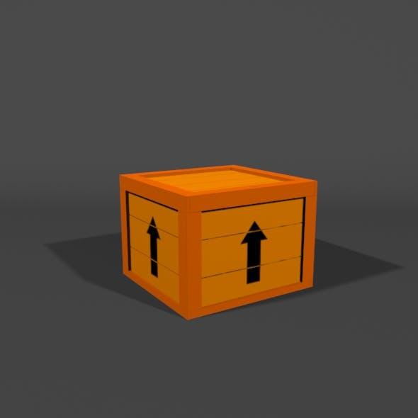 Wood box - 3DOcean Item for Sale