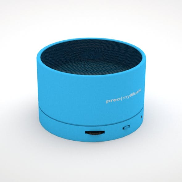 Music Box Bluetooth - 3DOcean Item for Sale