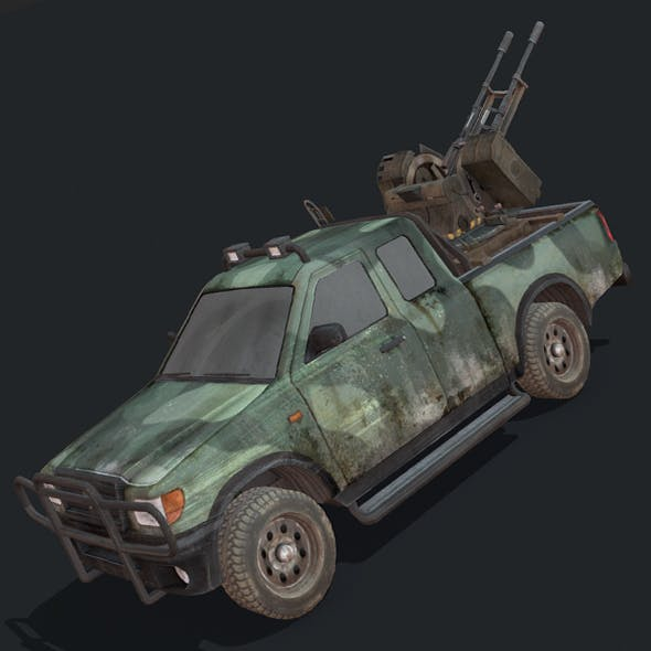 Toyota Hilux Artillery