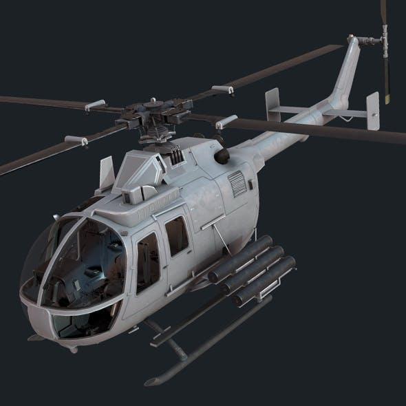 MBB Bo 105 - 3DOcean Item for Sale